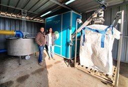 Solución sustentable para lodos de pisciculturas llega a Chile