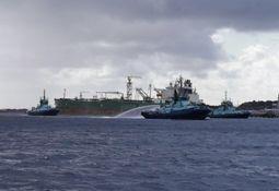 Brannen om bord i «Dubai Harmony» er slukket