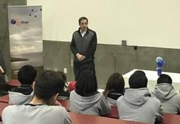 Salmonicultora capacita a estudiantes para trabajar en plantas de proceso