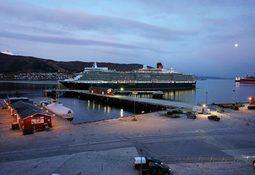 Ny cruisehavn åpnet i Narvik
