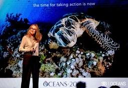 Sustainable Brands Oceans: Alexandra Cousteau lanzó campaña Océano 2050