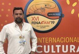 Badinotti presenta su Combinet en feria acuícola de Brasil