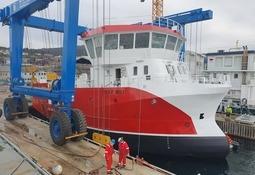Ny bløggebåt sjøsatt