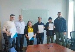 Sindicatos de Yadran firman convenio de negociación colectiva