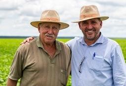 Fôrprodusenter tar grep i Brasil
