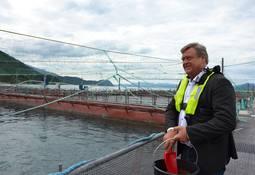 Nesvik out of office but perhaps not aquaculture