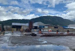 Los planes de Badinotti con el taller de redes más antiguo de Aysén