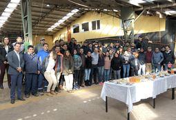 Badinotti inaugura de forma oficial su nuevo taller en Aysén