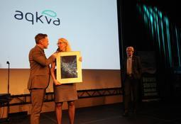 Hun fikk årets AqKva-pris