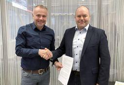 Signerte samarbeidsavtale om nytt visningssenter