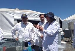 Autoridades visitaron piscicultura de Cermaq en La Araucanía