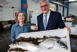 Coronavirus: Salmon farmers 'put health of staff first'
