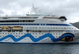 Cruisepassasjerer får ikke gå i land