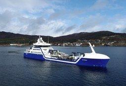 Verdens første hybride brønnbåt er klar for drift