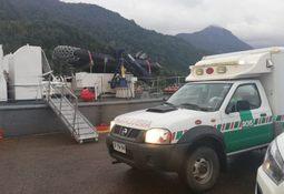 Autoridad Marítima apoya evacuación médica desde centro de cultivo