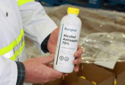 Cooke subsidiary refits factory to make sanitiser