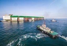 Megaproyecto salmonicultor se dirige a Noruega para comenzar operaciones