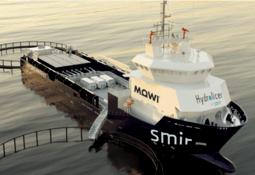 Et av verdens største avlusningsfartøy til Mowi Nord