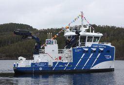 Nytt servicefartøy til Frøy Akvaressurs