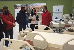 Industria salmonicultora dona 17 camas clínicas a UCI del Hospital de Aysén