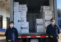 PDI decomisó más de dos toneladas de salmón premium robado
