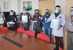Skretting Chile realiza donación de caretas faciales a instituciones de salud