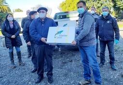 Salmonicultores siguen apoyando a comunidades en medio de la pandemia