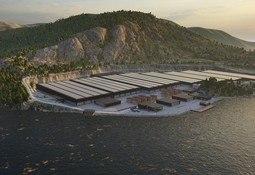 Noruega: centro de salmón en tierra obtiene licencia para producir 40 mil toneladas
