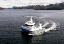 Doubling up: the service catamaran that's also a process boat