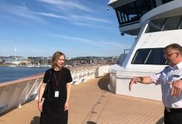 Åpner for cruise langs norskekysten