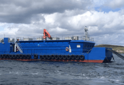 SSF's bigger barge ups efficiency at Eriboll