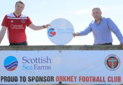 Football club thanks salmon farmer for 'lifeline' funding