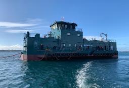 Cermaq Chile incorpora nuevo pontón para sus operaciones en Los Lagos