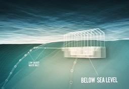 Innovador centro de salmón en tierra de Noruega retrasa su primera siembra