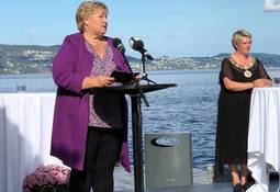 Norway's prime minister opens Lerøy visitor centre