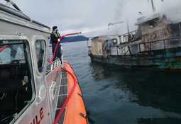Trabajadores de centro de AquaChile fueron claves en rescate de tripulantes