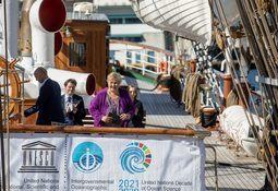 Kongsberg Maritime støtter One Ocean og «Statsraad Lehmkuhl»