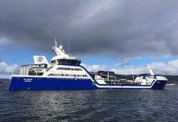 Primer wellboat híbrido del mundo gana premio Barco del Año