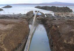 Magallanes: Avanzan trabajos de construcción de planta de Australis Seafoods