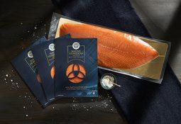 Prize winning Native Hebridean salmon a Great Taste