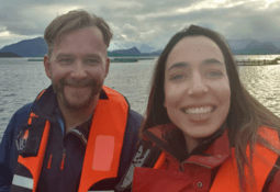 Women begin 'work-learn' stint with salmon farmer