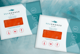 Smoked salmon launches with plastic-free pack
