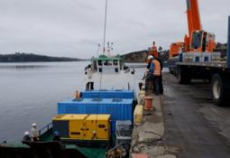 Lanzarán sistemas modulares para controlar bajas de oxígeno en centros de salmón