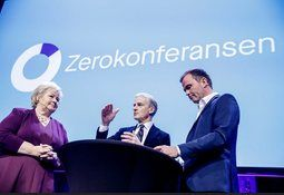 Ni partiledere samles til debatt om utslippskutt for skip
