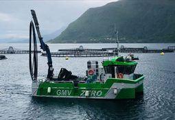 Skrev kontrakt om levering av batterielektrisk oppdrettsbåt