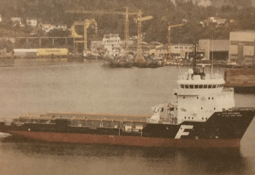 Norsk skip arrestert i India