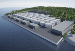 On-land salmon farm developer bets on simulation to save millions