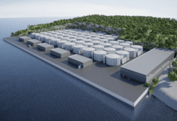 Construirán centro en tierra para 43.500 toneladas de salmón