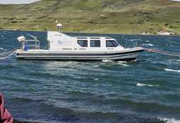 Comienza a operar primera embarcación 100% dedicada a la fiscalización acuícola