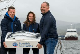 RAS hatchery cuts two months off fish time at sea